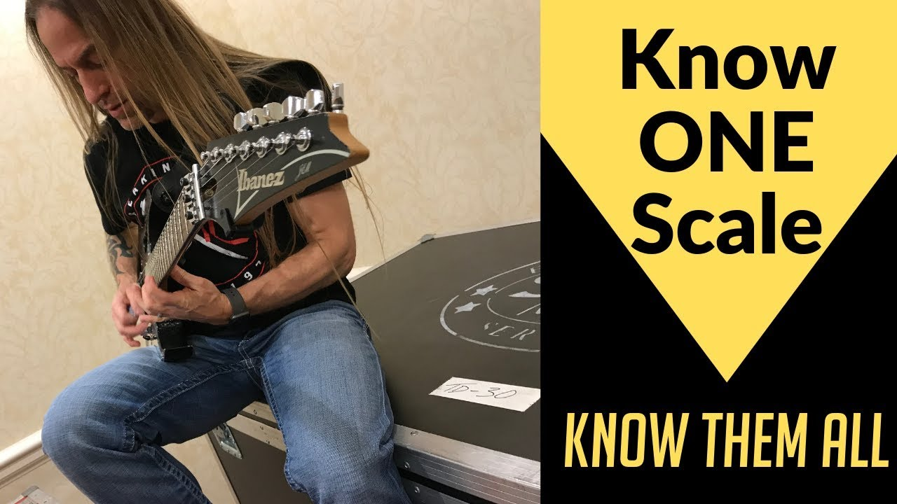 Know ONE Guitar Scale, Know them ALL | The Guitar Scale Shortcut