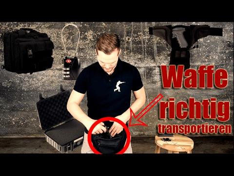 Waffe richtig transportieren - so gehts!