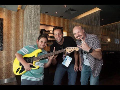 Lançamento do Projeto Little Rockers no Hard Rock Café Curitiba