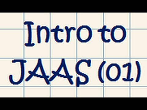 JAAS (Java Authentication and Authorization Service) – Tutorial 01