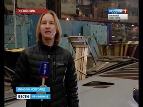 Видеорепортаж снижегородскогоСЗ «Волга» остроительстве танкеров проекта 03182
