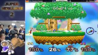 Super Nebulous 2 Doubles Losers Finals G$ and Alucard Vs. Ice and Swedish Delight- Alucard GOES IN