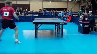 Невероятный настольный теннис