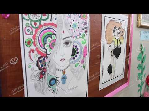 مكتب النشاط المدرسي اجدابيا يختتم معرض مدرسة فاطمة الزهراء الثانوية للبنات