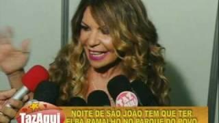 Além de uma entrevista divertida com Oscar Filho do CQC, um trecho do marcante show de Elba Ramalho na véspera de São...