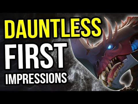 Dauntless - First Impressions - New Free to Play Co-op RPG Hits Open Beta!