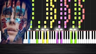 Skrillex and Diplo - Where Are Ü Now feat. Justin Bieber - IMPOSSIBLE REMIX  Ноты и М�Д� (MIDI) може