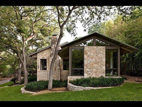 Fachadas de casas r sticas dicas para decorar - Piso interior o exterior ...