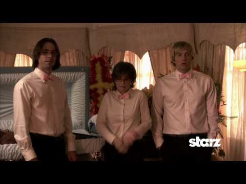 Martin Starr - Ep 204 'James Ellison Funeral' - Roman (Martin Starr) digs through a corpse to find Lydia's (Megan Mullally) missing earring. Party Down Season 2 Ep 4: 5/14 ...