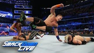 Nonton John Cena   Nikki Bella Vs  James Ellsworth   Carmella  Smackdown Live  March 7  2017 Film Subtitle Indonesia Streaming Movie Download