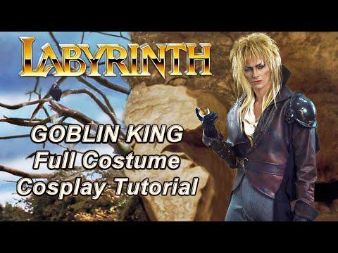 Labyrinth - Jareth Goblin King Costume Guide