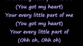 Alesha Dixon ft. Jay Sean - Every little part of me lyrics