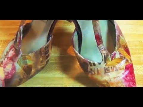 bellissime e moderne scarpe con découpage!