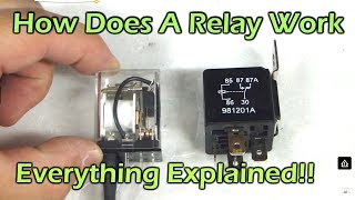 Video How Does A Relay Work - SPDT DPDT SPST Automotive Relay MP3, 3GP, MP4, WEBM, AVI, FLV April 2019