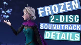 Disney's FROZEN Soundtrack 2-Disc Deluxe (Frozen Friday 4)