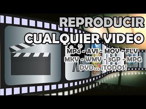Abrir video con cualquier formato .flv .mkv .mpg .avi .loquesea y cambiar de idioma o subtitulos (видео)