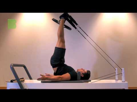 Double leg press and shoulder stand