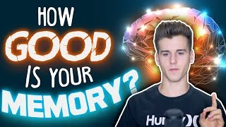 How Good Is Your Memory Test