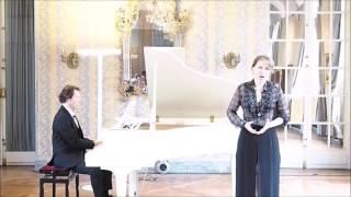 Gioachino Rossini Aragonese Mariam Sarkissian, mezzo-soprano Daniel Proper, piano Carnavalet Musem, Paris September 2016.