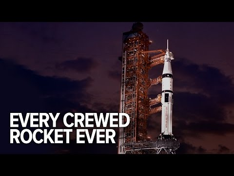 Every Manned Rocket In History