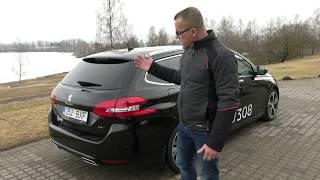 """""""AutoMedia Latvia"""" tests: atjaunotais """"Peugeot 308 SW GT"""" ar astoņpakāpju automātu"""