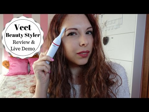 Veet Sensitive Precision Beauty Styler Review & Live Demo