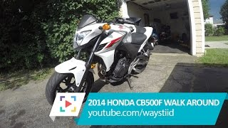3. 2014 Honda CB500F Walk Around