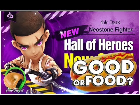 SUMMONERS WAR : SUMMONERS WAR : Karl the Dark Neostone Fighter Hall of Heroes - Good or Food?