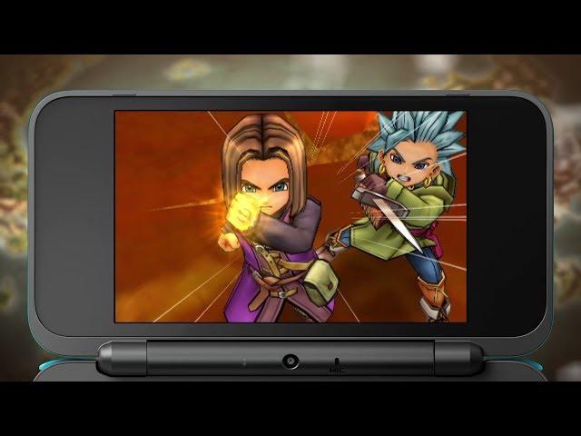 ドラゴンクエストXI「ゲーム画面」篇  ニンテンドー3DS版