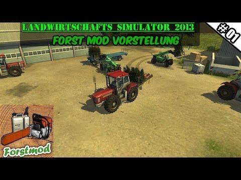 Landwirtschafts Simulator 2013 Forst Mod #01 - Die 3 Waldarbeiter ★ Let's Play LS 13 ForstMod