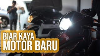 Video Cara Mengganti Lampu Motor ke LED MP3, 3GP, MP4, WEBM, AVI, FLV November 2018