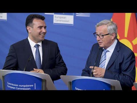 Γιούνκερ: Η Συμφωνία των Πρεσπών δεν επηρεάζεται από τις εθνικές εκλογές…