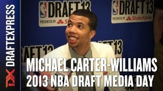 Michael Carter-Williams - 2013 NBA Draft Media Day Interview