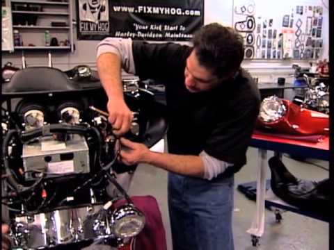 HARLEY - In this Harley Davidson Video, Bob gives maintenance tips for front fork adjustment, service, and maintenance. This is quite a long process, there are quite ...