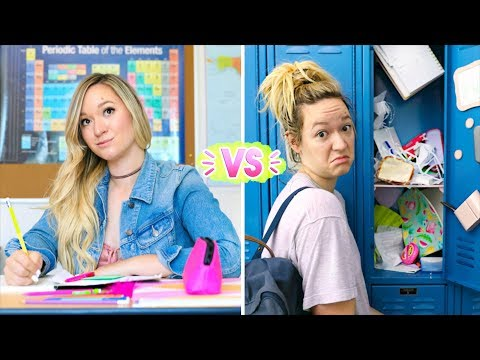 First Day of School vs Last Day of School! Alisha Marie (видео)