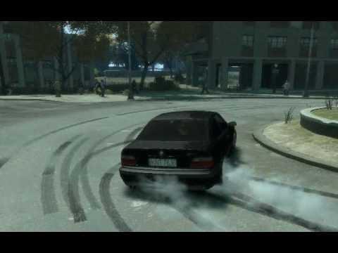BMW M3 GTA - drift BMW M3 e36 with the game GTA IV.