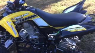 2. 2016 Yamaha raptor 700 se w/Barker dual exhaust