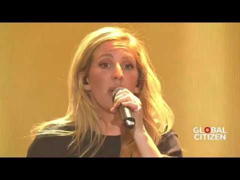 Ellie Goulding First Time | Live at Global Citizen Festival Hamburg
