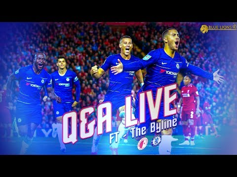 Liverpool Vs Chelsea || Q & A Livestream & LIVE Line Up  Reaction
