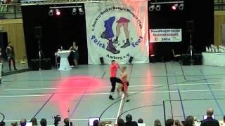 Ayline Spielmann & Philipp Sauter - Nordbayerische Meisterschaft 2014
