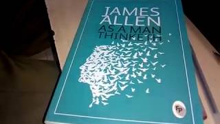 Unboxing!! Book 'As a Man Thinketh' Written by James Allen