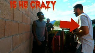 He Crashed My Car PRANK (Almost Beat His A**)