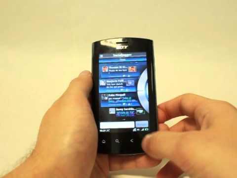 Acer Liquid Metal - Demo video test