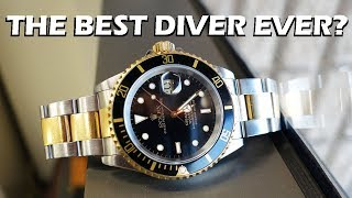 Channel JUBILEE! Perth WAtch style review of this dual tone gold-black version of the most iconic dive watch of all, plus a highlight of the differences in the newer 116613BLK model.Like on Facebook: https://www.facebook.com/PerthWAtchYouTube/#rolex #submarinerRolex 16613LN (feat. Rolex 3135 movement)Authentic Watches - http://www.authenticwatches.com/rosu16.html#.WPIs_fl97DcJomashop - http://www.jomashop.com/rolex-16613bk.html===========Perth WAtch - Sharing my passion for horology and watches. Enjoy the videos on watch reviews, general thoughts & discussions, side-by-side comparisons, horology topics, and more!Watch Reviews Playlist: https://www.youtube.com/watch?v=h8DySE9bYGU&list=PL1qbhxREC4LQGhBi-ErvsxVz3Kc5P4FOxWatch Topics & Discussions: https://www.youtube.com/watch?v=u3IWov7lrrk&list=PL1qbhxREC4LT9JMopfMG2-wu6rFhsJCIuSubscribe: https://www.youtube.com/channel/UCjBOEG8LoZOV0qOO7TdlHlA?sub_confirmation=1===========Music:Prelude in C (BWV 846) Kevin MacLeod (incompetech.com)Licensed under Creative Commons: By Attribution 3.0 Licensehttp://creativecommons.org/licenses/by/3.0/