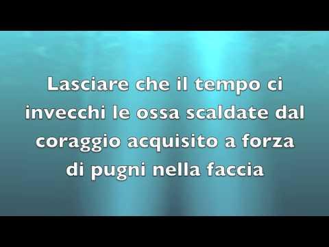, title : 'Acqua - Fabrizio Moro (Testo)'