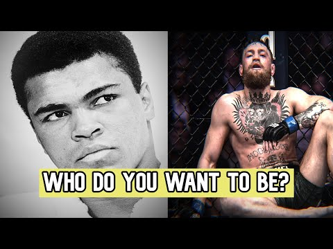Muhammad Ali & Conor McGregor ►WHO DO YOU WANT TO BE?◄ Motivational Video