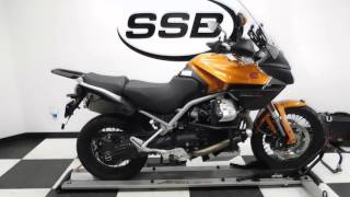 2. 2013 Moto Guzzi Stelvio 1200 NTX Orange - used motorcycle for sale - Eden Prairie, MN