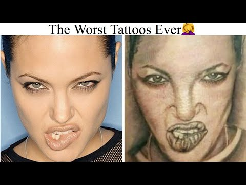 Video The Worst Tattoos Ever download in MP3, 3GP, MP4, WEBM, AVI, FLV January 2017