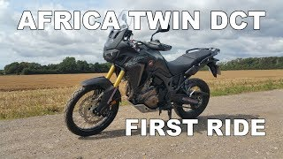 4. I Ride The Honda Africa Twin DCT For The First Time Review