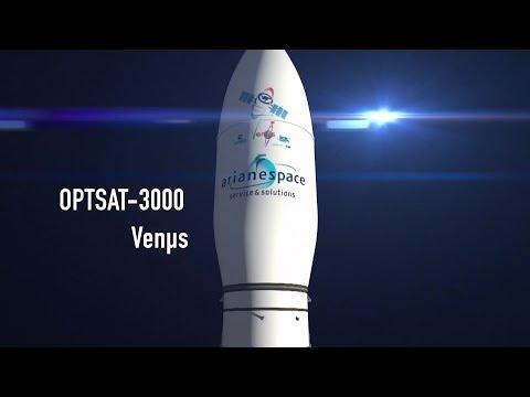 Replay de la mission VV10 / OPTSAT-3000 et Venµs © Arianespace